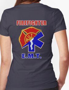 Firefighter-EMT Womens Fitted T-Shirt