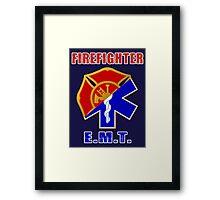 Firefighter-EMT Framed Print