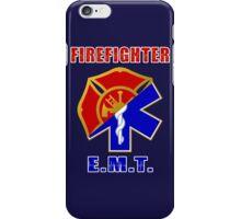 Firefighter-EMT iPhone Case/Skin