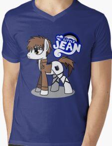 My Little Jean Mens V-Neck T-Shirt