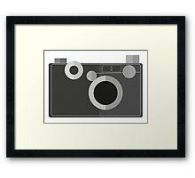 Retro Camera Therese Framed Print