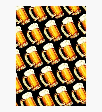 Bier Pattern Photographic Print