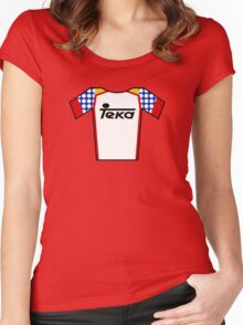 Retro Jerseys Collection - Teka Women's Fitted Scoop T-Shirt