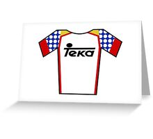 Retro Jerseys Collection - Teka Greeting Card