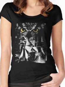 Off-World Colonies Women's Fitted Scoop T-Shirt