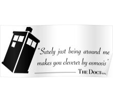 Doctor's wise words Poster