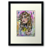 Time Pasing By Framed Print