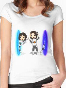 Portal Grumps Women's Fitted Scoop T-Shirt