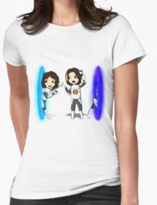 Portal Grumps Womens Fitted T-Shirt