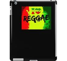 I love reggae iPad Case/Skin