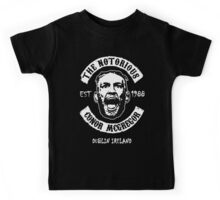 Conor Mcgregor (Version 2 Printed On Back) Kids Tee