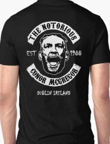 Conor Mcgregor (Version 2 Printed On Back) Unisex T-Shirt