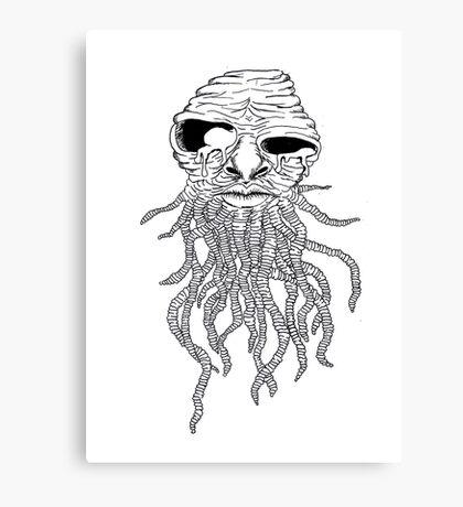Worm Wizard  Canvas Print