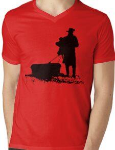 The D is silent Mens V-Neck T-Shirt