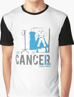 Let's Cancel Prostate Cancer Graphic T-Shirt