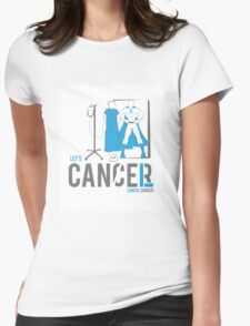Let's Cancel Prostate Cancer Womens Fitted T-Shirt