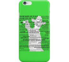 Rick Grimes Quotes The Walking Dead TWD Graphic iPhone Case/Skin