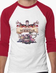 D&D is For Nerds S2 Men's Baseball ¾ T-Shirt