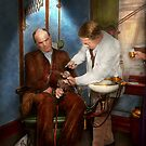 Dentist - Monkey Business 1924 by Mike  Savad