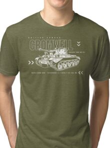 Cromwell Tank Mark VII Tri-blend T-Shirt
