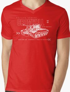Cromwell Tank Mark VII Mens V-Neck T-Shirt