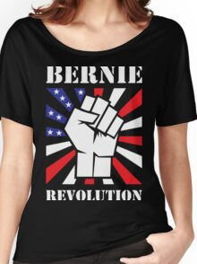 Bernie Sanders Revolution Women's Relaxed Fit T-Shirt