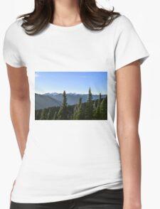 Hurricane Ridge, Olympic National Park, Washington Womens Fitted T-Shirt