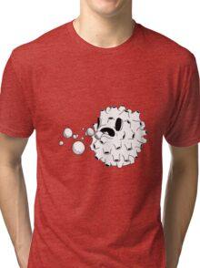 Belching Blowfish  Tri-blend T-Shirt