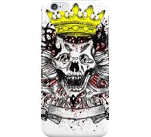 King of the Skulls iPhone Case/Skin