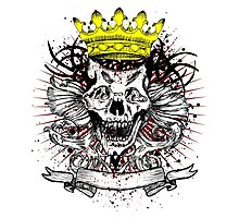 King of the Skulls Photographic Print