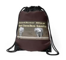The Waiting Vultures what's for dinner. Drawstring Bag