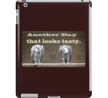 The Waiting Vultures what's for dinner. iPad Case/Skin