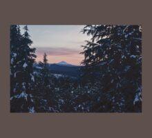 Mount McLoughlin, Crater Lake National Park, Oregon One Piece - Short Sleeve