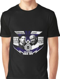 Man of Science v Man of Faith Graphic T-Shirt
