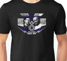 Man of Science v Man of Faith Unisex T-Shirt