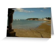 Joe Mortelliti Gallery - Bluff, Barwon Heads, Bellarine Peninsula, Victoria, Australia. Greeting Card