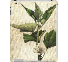 Antique Botanical 1  iPad Case/Skin