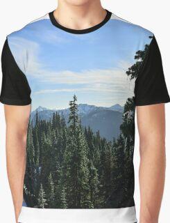 Hurricane Ridge, Olympic National Park, Washington Graphic T-Shirt