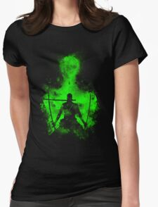 Zoro Art Womens Fitted T-Shirt