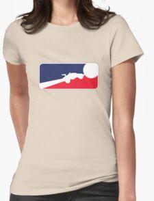Major League Rocket League no text Womens Fitted T-Shirt