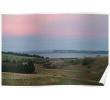 Joe Mortelliti Gallery - Morning tones, Lake Connewarre, Bellarine Peninsula, Victoria, Australia.  Poster
