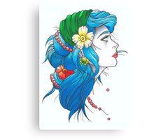 Gipsy Girl Canvas Print