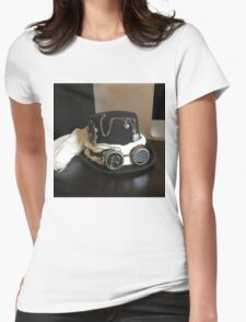 Steampunk Hat Womens Fitted T-Shirt