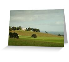 Joe Mortelliti Gallery - Spray Farm, Bellarine Peninsula, Victoria, Australia. Greeting Card