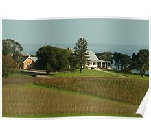 Joe Mortelliti Gallery - Spray Farm homestead, Bellarine Peninsula, Victoria, Australia. Poster
