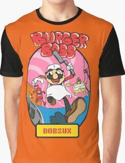 Burger Boss - BOB SUX Graphic T-Shirt