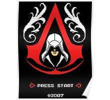 Assassin's Pixels Poster