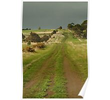 Joe Mortelliti Gallery - Heavy cloud over Spray Farm, Bellarine Peninsula, Victoria, Australia.  Poster