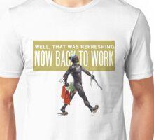 warframe now back to work Unisex T-Shirt