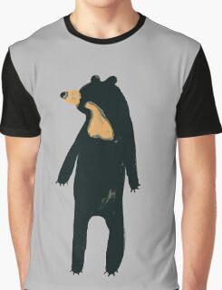 Sun and Honey Bear Graphic T-Shirt